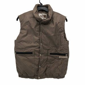 The North Face Mens Vest Brown Made In USA Size S